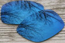 Navy Blue Polarized Mirror Sunglass Lenses for Oakley Jupiter Squared Dark Tint