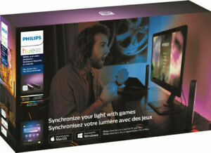 Philips - Hue Play Starter Kit - White and Color Ambiance Game/Movie Light Sync