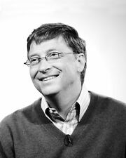 Co-founder of Microsoft BILL GATES Glossy 8x10 Photo PC Computers Print Poster