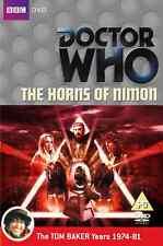 Doctor Who - HORNS OF Nimon - Dr Who - Dischi/INSERTO È COME NUOVO - Tom Baker
