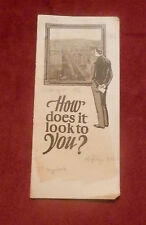 1925 Salt Lake City UTAH Chamber of Commerce Pamphlet   HOW DOES IT LOOK TO YOU