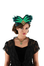 Oz The Great And Powerful Evanora Deluxe Emerald Green & Black Headband One Size