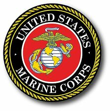 "U.S. Marine Corps Seal Car Truck Decal 3.5"" USMC The Best In Quality Of eBay!"