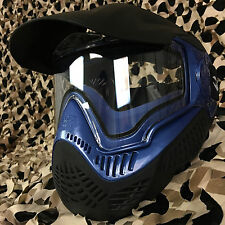 NEW Valken Sly Annex MI-9 Thermal Anti-Fog Paintball Mask Goggle - Blue