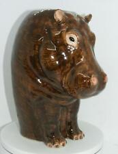 More details for quail ceramics hippo flower vase large 67