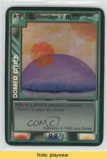 1996 Super Nova Collectible Card Game Base Doomed Cities Read 6b1