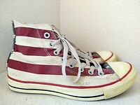 Converse Chuck Taylor Rummage Hi Top Sneak Unisex Shoes USA Flag Mens 7 Womens 9