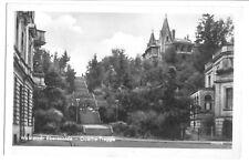 AK, Eberswalde, Partie mit Goethe-Treppe, 1955