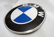 "Enamel plaque BMW 20"" LOGO collectable sign circle WARRANTY-10 ys metal emblem"