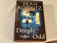 First Edition Odd Thomas Series Deeply Odd by Dean Koontz 2013 Hardcover