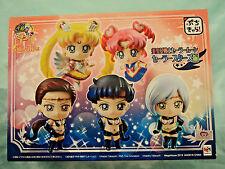 Sailor Moon Petit Chara Land Sailor Stars version -set of 5 figures *New/Sealed*