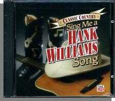 sing me a song von hank williams-neu 18-song time/life cd-großer name stars, elvis