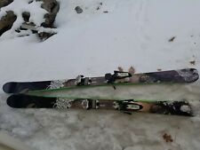 New listing Nordica Wild Belle 162 Cm Women's Skis with Marker Squire Bindings.