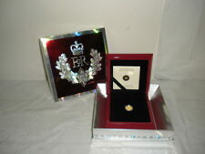 2012 5 DOLLAR PURE GOLD CANADIAN COIN THE QUEEN'S DIAMOND JUBILEE FIVE