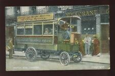 London Pre - 1914 Collectable Transportation Postcards