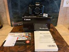 Canon PowerShot X G5 X 20MP 4.2x Zoom Black Digital Camera Full HD WiFi
