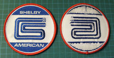 VINTAGE STYLE SHELBY AMERICAN INC - COBRA - EMBROIDERED PATCHE - SCCA - RACING