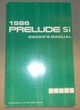 repair manuals literature for honda prelude ebay rh ebay com 1990 Honda Prelude 1991 Honda Prelude