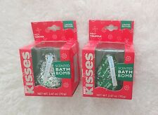 Hershey's Kisses Scented Bath Bombs Hot Cocoa & Mint Truffle Limited Edition NEW