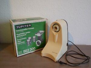 Jupiter Getreidemühle Küchenmaschine Typ 862 mit Gemüseraffel Reibevorsatz