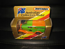 MATCHBOX AUSTRALIAN COLLECTOR MODEL FORD MODEL A TRUE VALUE HARDWARE LTD ED MB38