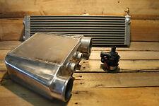 Premium Aluminium Water to Air Intercooler Kit Drag Series