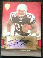 2011 Topps Supreme STEVAN RIDLEY #36/50! Autograph Red Parallel SSP  **ROOKIE**