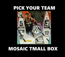 New ListingLa Clippers Mosaic Tmall Box 2019-20 Basketball Box Break #472