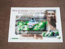 Henri PESCAROLO - 24H Le Mans (2002), Courage C60/Peugeot, Karte/card 15x21 cm