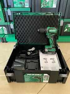 HiKOKI/Hitachi 18V Akku Bohrschrauber DS18DD inkl.2 x 3,0Ah Akku im Koffer Neu