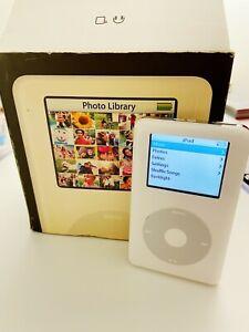 Apple iPod Photo Classic 4th Generation White 30GB with ORIGINAL BOX