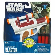Star Wars The Clone Wars Cad Bane Dart Blaster Gun Age 5+ New Toy Hasbro
