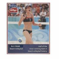 Kerri Walsh, Jordyn Wieber, Dwight Phillips. Team Kellogg's Athlete Card 2012
