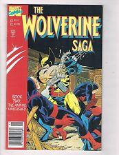 The Wolverine Saga #2 VF Marvel Comics Book 2 Comic Book X-Men DE41 AD18
