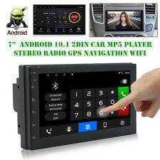 "7"" Android 10.1 2DIN Car MP5 Player Stereo Radio GPS Navigation Wifi FM USB AUX"