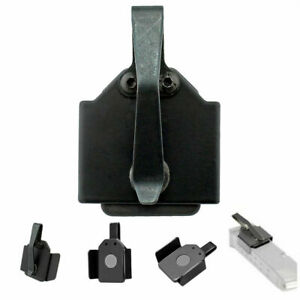 Black Magnetic Medium Size In-The-Pocket Magazine Holder for 9mm .40 Magazine