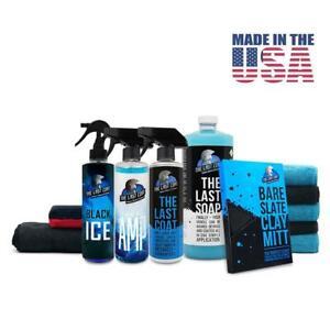 The Last Coat - TLC2, Black ICE, Soap,AMP Complete KIT