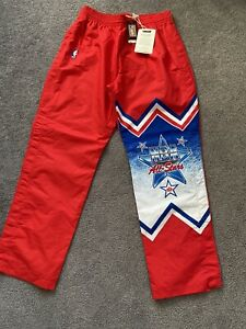 NEW MITCHELL & NESS 1991 NBA All Star Game Warm Up Pants MSRP $140 Men's XL