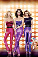 CHARLIES ANGELS 24X36 POSTER JACLYN SMITH CHERYL LADD SHELLEY HACK TIGHT PANTS