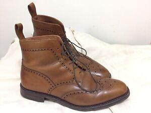 Loake George Boots 12 F Tan Grain Leather