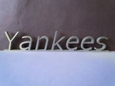 YANKEES stainless steel desk name