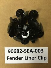 QTY 10: OEM Honda Acura Fender Apron Grommet Retainer Clips 90682-SEA-003 USA