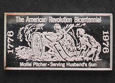 1971 Kennedy Mint Molly Pitcher Silver Art Bar KEN-28 P1690