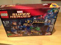 LEGO  MARVEL SUPER HEROES  76018 Avengers: Hulk Lab Smash  NEW SEALED.