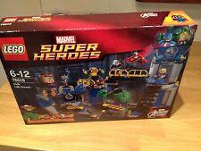 LEGO MARVEL SUPER HEROES 76018 Avengers: HULK LAB SMASH NUOVO SIGILLATO.