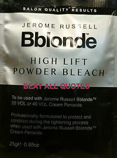 JEROME RUSSELL B BLONDE HIGH LIFT POWDER BLEACH 25g