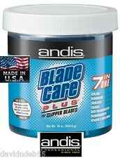 GROOMING ANDIS CLIPPER BLADE CARE PLUS WASH/DIP Cleaner,Disinfects,Lube,Coolant,
