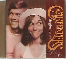 THE CARPENTERS - Singles 1969-1981 - Remastered CD - Very Good Plus - 21 tracks