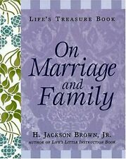 Lifes Treasure Book on Marriage and Family (Life