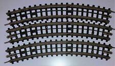 26x TTR Trix Twin Railway 3-Rail Fibre Small Radius Curve - Free Postage